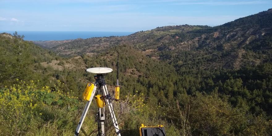 Campaña Geofísica en Chipre